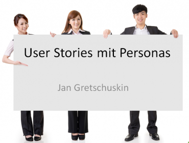 User Stories with Personas
